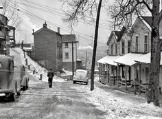 pittsburgh 1938 | Donner Avenue - Monessen, Pennsylvania