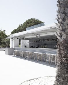 pool bar at the bay hotel in Zakynthos, Greece by eDje architects
