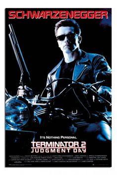 Terminator 2 Judgement Day One Sheet Poster
