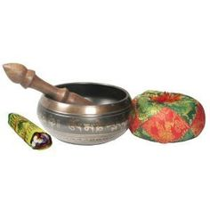 Exquisite 4 Inch Tibetan Singing Bowl Made in Nepal with Wooden Striker *** See this great product. (Note:Amazon affiliate link)