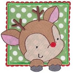 Box Christmas Applique 1 - 2 Sizes! | What's New | Machine Embroidery Designs | SWAKembroidery.com Bunnycup Embroidery