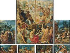 Adam Elsheimer, Tabernacolo della Croce Santa, olio su rame. Firenze Galleria Palatina fino al 5 Giugno