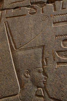 Chapelle Rouge, chapelle reposoir de la barque sacrée d'Amon-Rê, édifiée par Hatchepsout, Karnak. XVIIIe dynastie.