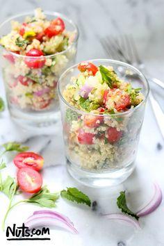 Quinoa Tabbouleh Salad Recipe (Gluten-Free)