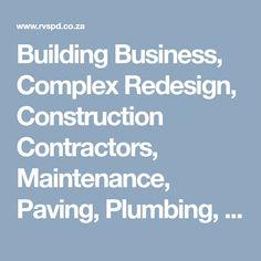 Mobile Friendly Website, Construction Contractors, Website Designs, Plumbing, Business, Building, Buildings, Store, Site Design