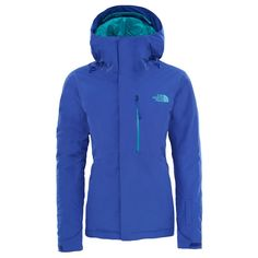 208 The North Face Descendit Jacket W - Inauguration Blue