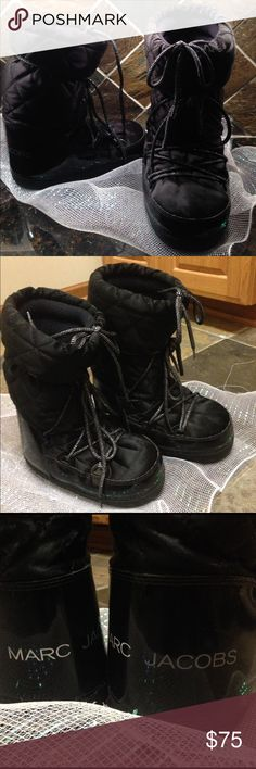 Marc Jacobs Boots Shout out to ladies in the colder states! I ADORE these...but also have 2 pairs of the same style. They're incredibly warm and comfortable for all day wear. Pre-loved, in great condition, ready to ship. Marc Jacobs Shoes Winter & Rain Boots