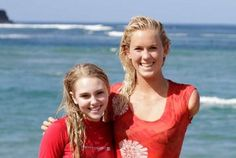 Bethany Hamilton- Soul Surfer----> I've actually met Bethany Hamilton while I was on vacation in Hawaii! I saw her surf and then she came ashore and signed autographs!!