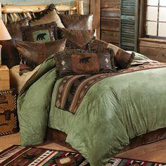 Pine Lodge Bear Bed Set - King