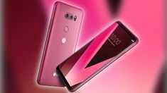 Red trend continues into CES 2018 with Raspberry Rose LG V30 - Pocketnow