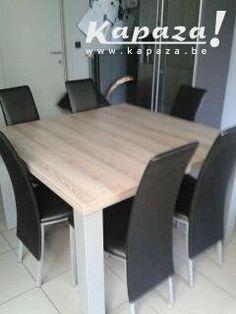 1000 images about tafel on pinterest teak makassar and for Tweedehands tafels en stoelen