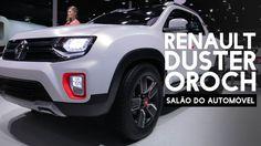 Wow ! :-O Renault Duster Oroch picape no Salão do Automóvel - WebMotors