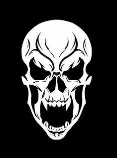 Les meilleures offres pour Haut Détail AIRBRUSH Pochoir Crâne 100 GRATUIT UK ENVOI sont sur eBay ✓ Comparez les prix et les spécificités des produits neufs et d'occasion ✓ Pleins d'articles en livraison gratuite! Cool Skull Drawings, Skull Artwork, Graffiti Drawing, Skull Stencil, Stencil Art, Stencils, Punisher Skull, Tatto Skull, Skull Silhouette