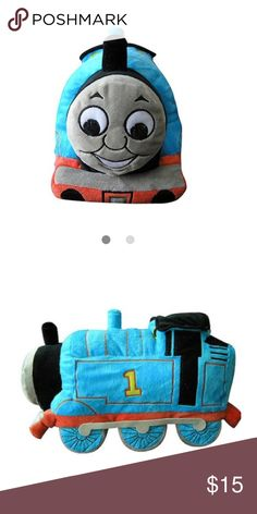 Thomas the train pillow pal The Thomas the Train Cuddle Pillow Pal is a lovely security accessory for your favorite little Thomas fan.design based on the beloved children's book and television character. This Thomas pillow weighs four pounds, which makes it hefty enough for kids to hold and cuddle. This pillow also makes an excellent toy, which kids can use to create imaginative train-themed adventures & proudly display it as a part of their room decor. This item makes an outstanding…