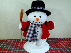 Vintage Santa's Best Animated Snowman by TimelessTreasuresbyM on Etsy