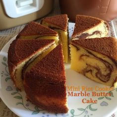 My Mind Patch: Mini Rice Cooker Butter Marble Cake 迷你电饭锅大理石奶油蛋糕