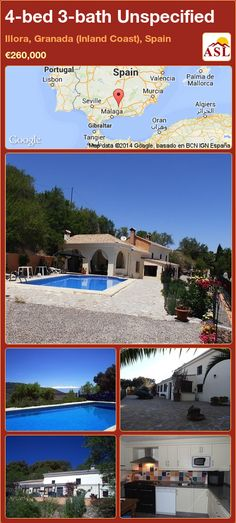 Unspecified for Sale in Illora, Granada (Inland Coast), Spain with 4 bedrooms, 3 bathrooms - A Spanish Life Murcia, Valencia, Small Sitting Rooms, Portugal, Hills And Valleys, Large Shower, Bbq Area, Log Burner, Iron Gates