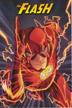 The Flash Need for Speed DC Comics Poster 22x34