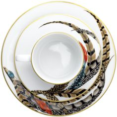 Ralph Lauren Home Carolyn dessert plate, cup and saucer