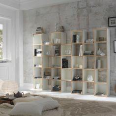18 PlusOne bookcase by Domadesign   www.lovethesign.com/uk