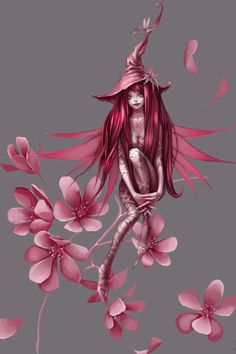 :) a cute fairy witch