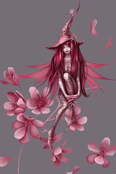 :) a cute fairy witch