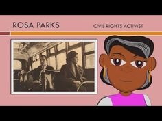 Rosa Parks Story (Educational Videos for Students) Rosa Parks for Kids (...