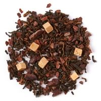 David's Tea's English Toffee - Need a toffee break? This rich and decadent, all-natural blend of pu'erh, cocoa beans and caramel is the perfect sweet treat.