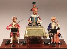 automata (mechanical toys popular in the 18th and 19th century)