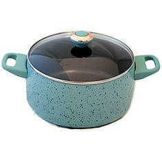 Paula Deen Signature Robin's Egg Blue Porcelain 6-quart Stockpot ... so pretty !!