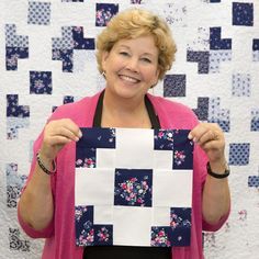 Grab your dancing shoes and your sewing machine! Jenny is showing us how to create the Grand Square Quilt! Msqc Tutorials, Quilting Tutorials, Cute Quilts, Easy Quilts, Amish Quilts, Quilting For Beginners, Quilting Tips, Star Quilts, Quilt Blocks