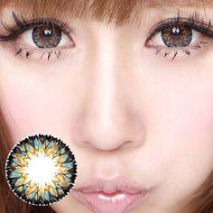 Pandora Vanilla Shake Brown Color Contact Lenses