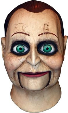 costume mask: dead silence billy puppet mask