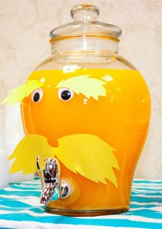 Seuss Lorax Birthday Party Idea
