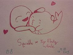 ·Tiny Floating Squiddle· My newest ship drawn by Komiya