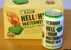 Hell or High Watermelon, 21st Amendment Brewery...Want to try!