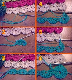 Happy Circles Table Runner - Pattern by LauraLRF, via Flickr