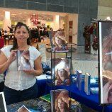 Book signing at the Enfield Mall