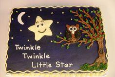 Twinkle Little Star birthday cake.