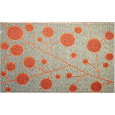 Cotton Ball  4 x 6 Indoor/Outdoor Reversible Area Rug by b.b.begonia