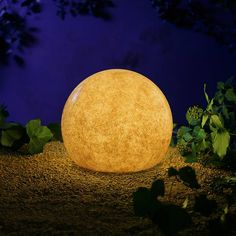 It's IRL Glowstone!  These would be way cool on a back patio, especially around a pool.    Sandstone Moonlight