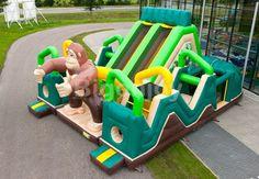 Inflatable Structure Safari Battle