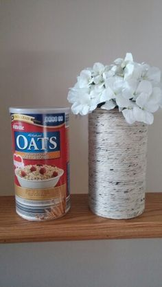 Transform your oatmeal canister with a little creativity!