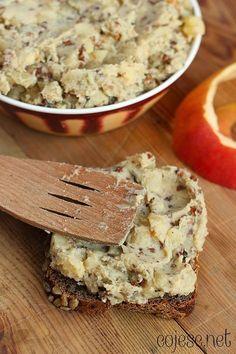 Pasty i pasztety Veggie Recipes, Sweet Recipes, Vegetarian Recipes, Snack Recipes, Dessert Recipes, Cooking Recipes, Healthy Recipes, Healthy Breakfasts, Czech Recipes