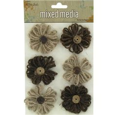 the Paper Studio Burlap Sunflowers Burlap Crafts, Glue Crafts, Paper Crafts, Coconut Shell, Flowers Online, Hobby Lobby, Twine, Craft Projects, Craft Ideas