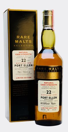 PORT ELLEN 1978 22 Year Old Rare Malts, Islay