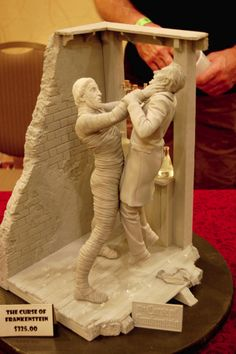 Forbidden Zone's amazing Curse of Frankenstein kit sculpted by Jeff Yagher