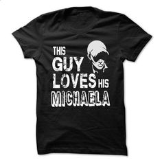 i love MICHAELA - #oversized tee #sweater for teens. BUY NOW => https://www.sunfrog.com/Names/i-love-MICHAELA-31019609-Guys.html?68278