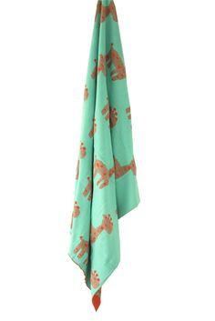 Giraffe Baby Blanket NZ $49, for the energetic type who love colour discovery. Perfectly warm, breathable & [attention Mum's] machine washable.