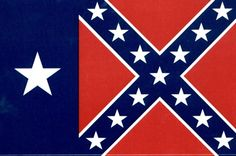 This was the Texas State Flag during the Civil War.